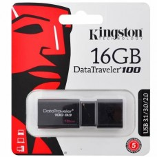 Kingston DataTraveler 100 G3 - Unidad flash USB - 16 GB