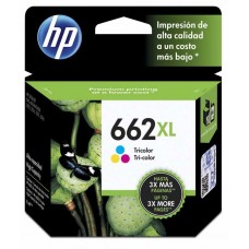 Cartucho de tinta Hp 662XL Color